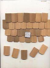 Fashion Dollhouse Hexagon Roofing Shingles 765pcs. Cedar #41 1/8 scale USA