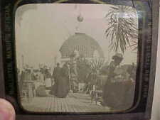 1893 WORLDS COLUMBIAN EXPOSITION Glass LANTERN SLIDE-CALIFORNIA BUILDING