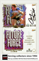 2001 Select NRL Impact Future Force Signature Card FF5 Colin best-Sharks