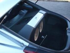 "Fits Nissan 350Z - Custom Subwoofer Enclosure Box & Plexiglass Amp Rack - 2 10"""