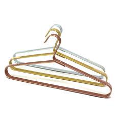 """20P 16.5"""" Metal Hanger Clothes Dress Hangers Heavy Duty Closet Storage 4 Color"""