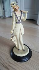 Stunning Vintage Vittorio Tessaro Figurine Made in Italy and Signed