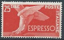 1945-52 ITALIA ESPRESSO DEMOCRATICA 25 LIRE MNH ** - W12