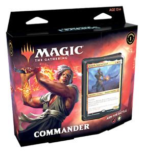MTG Commander Legends COMMANDER DECK - ARM FOR BATTLE