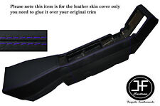 PURPLE STITCHING CENTER CONSOLE LEATHER SKIN COVER FITS RENAULT ALPINE GTA V6