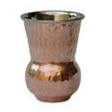 Pure Copper Dholak Glass Set/For Health Benefits/ Daily Use/Free Shipping