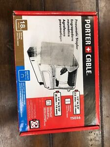PORTER-CABLE TS056 18-Gauge Pneumatic 3/8 Inch Crown Stapler