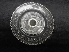 New 2 Piece Set Silver Plated Tray And Pedestal Server Dinnerware Glass Serving