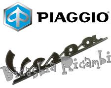 2H000926 - ORIGINALE PIAGGIO TARGHETTA FIANCATA COFANO SINISTRO VESPA 50 SPRINT