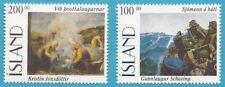 Island aus 1996 ** postfrisch MiNr.842-843 - Gemälde!