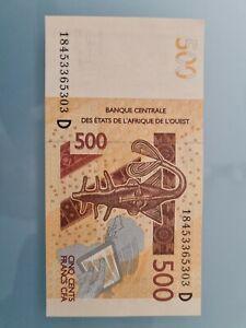 500 CFA aus Mali