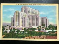 Vintage Postcard>1933>Los Angeles County General Hospital>Los Angeles