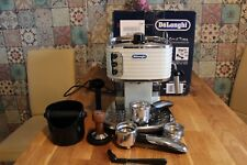 Delonghi Scultura ECZ 351 W Espressomaschine  Siebträger