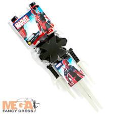 Deadpool Superhero Weapon Fancy Dress Marvel Adults Toy Sword Knives Costume Kit