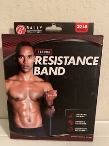 Bally Total Fitness. Strong 20LB Resistance Band.