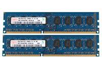 For Hynix 4GB 2X 2GB DDR3 1333MHz PC3-10600U 2Rx8 240Pin DIMM Desktop Memory RAM