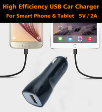 12V Car Charger USB Adapter 5V/2A Output For Smart Phone,Tablet and Power bank