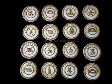 More details for masonic regalia-craft provincial dress & undress badges (all provinces/ranks)