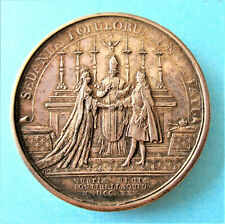 FRANCE-1725 /1804 - KING LOUIS XV MARRIAGE - SILVER WEDDING  MEDAL  by GATTEAUX