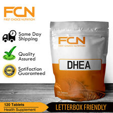 DHEA 50mg X 120 TABLETS / PCT / TESTOSTERONE / ESTROGEN / BOOSTER / MOOD HEALTH