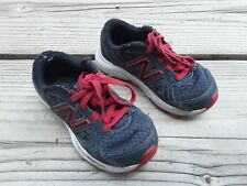 NEW BALANCE Speed Ride Boy's Running Shoes US 11W  Black  Red