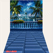 Cityscape10'x20'Computer/Digital Vinyl Scenic Photo Backdrop Background SU803B88