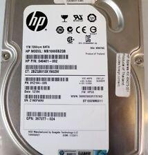 """HP 649401-0 3.5"""" 1-TB 7200 RPM 3 G SATA Hard Disk Drive"""