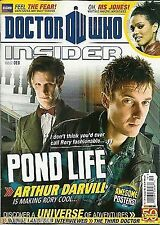 Doctor Who Insider Magazine Issue 8 Arthur Darvill Bonnie Langford 3rd Doctor
