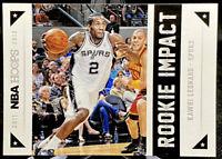 Kawhi Leonard 2011-12 Panini NBA Hoops Rookie Impact RC #12 San Antonio Spurs
