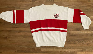 Vintage NFL Kansas City KC Chiefs Sweater Nutmeg Mills USA Size L/XL