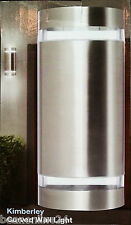 Stainless Steel Up/Down Outdoor Wall Light - 240V 35W GU10 - globes included!