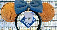 2020 Disney Parks Mickey Minnie Mouse Ears Pin Trading Cork Headband Bow New