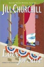 Love for Sale Jill Churchill 1st Edition No 4 Grace & Favor Mystery HB Jkt 2003