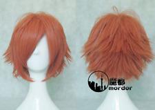 Ouran High School Host Club Kaoru/Hikaru Hitachiin Anime Orange Cosplay Hair Wig