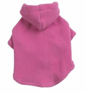 Casual Canine Dog Fleece Hoodie Sweatshirt Coat XXS-XL Pet Hood