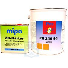 Acryllack 2K RAL 6005 Moosgrün Mipa LKW Lack Holz Maschinen Industrielack NFZ PU