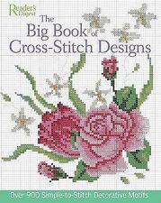 The Big Book of Cross-Stitch Designs READER'S DIGEST  EXPRESSpost NEW