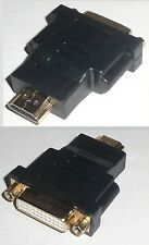 BLACK New HDMI Male to DVI Female Converter Adapter Connector tv/lcd/screen AUS
