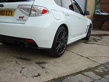 Subaru Sti Wrx Bottom Line Kit de carrocería, Labios, Divisor, lado Falda Hatch e Gr
