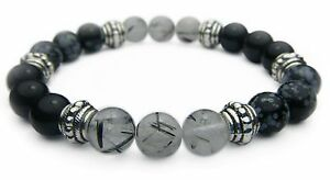 BALANCE of MIND, BODY, & SPIRIT 8mm Crystal Intention Bracelet - Healing Stone