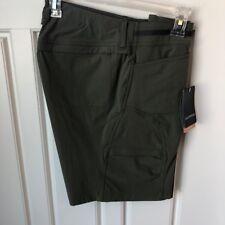 Exofficio Ladies Short, Olive, Size 10