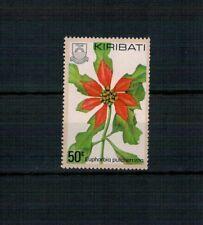 X45 KIRIBATI FIORI splendido francobollo
