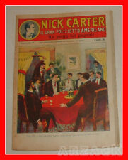 NICK CARTER 5 Nerbini 1923 IL GRAN POLIZIOTTO AMERICANO Racconto Completo