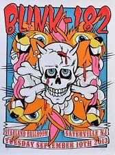 Blink 182 Concert Poster 2013 Frank Kozik