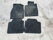 02-06 LEXUS ES300 ES330 BLACK CARPET FLOOR MATS 4PC OEM