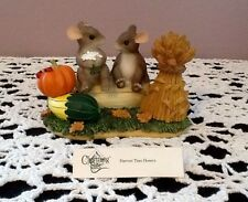 Charming Tails 'Harvest Time Honeys' By Fitz And Floyd 85/882