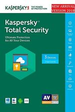 Kaspersky Total Security 2017-2018 3PC/User/Device 1Year (Download) + Safe Kids