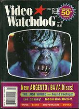 RARE VIDEO WATCHDOG Magazine #50  ARGENTO Lon Chaney BAVA Demons PHENOMENA