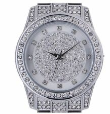 Spirit Ladies/ Women's Luxury Blingy Silver Wrist Watch/ Crystals/ Stone Set