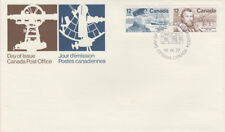 CANADA #738-739 12¢ FAMOUS CANADIANS PAIR FIRST DAY COVER